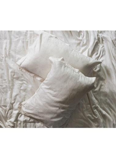 Hibboux 200x220 Poem Pamuk Saten Nevresim + Yastık Kılıfı - Whisper Renkli